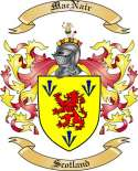 Mac Nair Family Crest from Scotland