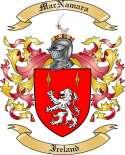 Mac Namara Family Coat of Arms from Ireland