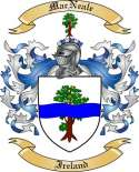 Mac Neale Family Coat of Arms from Ireland