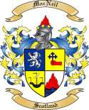 Mac Neil Family Crest from Scotland