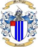 Mac Night Family Crest from Scotland