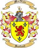 Mac Nuir Family Coat of Arms from Scotland