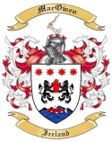 Mac Owen Family Coat of Arms from Ireland