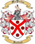 Mac Parlan Family Coat of Arms from Scotland