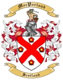 Mac Parland Family Crest from Scotland1