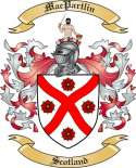 Mac Partlin Family Coat of Arms from Scotland