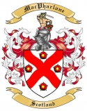 Mac Pharlane Family Crest from Scotland1