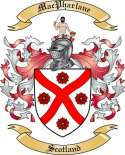 Mac Pharlane Family Crest from Scotland
