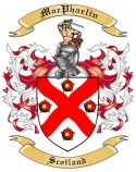 Mac Pharlin Family Crest from Scotland1