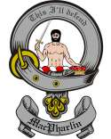 Mac Pharlin Family Crest from Scotland2