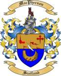 Mac Pherson Family Crest from Scotland