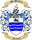Mac Philbin Family Crest from Ireland