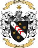 Mac Priors Family Coat of Arms from Ireland