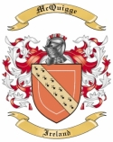 Mac Quigge Family Crest from Ireland
