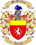 Mac Quillian Family Coat of Arms from Ireland