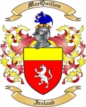 Mac Quillon Family Crest from Ireland