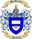 Mac Quistin Family Crest from Scotland