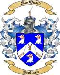 Mac Quoid Family Crest from Scotland2