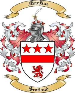 Mac Rae Family Coat of Arms from Scotland2