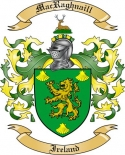 Mac Raghnaill Family Crest from Ireland