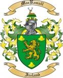 Mac Ranall Family Coat of Arms from Ireland