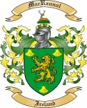 Mac Rannal Family Crest from Ireland