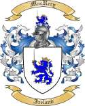 Mac Rery Family Coat of Arms from Ireland