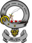Mac Rie Family Crest from Scotland