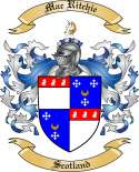 Mac Ritchie Family Coat of Arms from Scotland