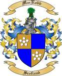 Mac Robb Family Crest from Scotland