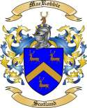 Mac Robbie Family Coat of Arms from Scotland2