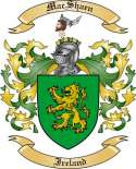 Mac Shaen Family Coat of Arms from Ireland