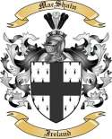 Mac Shain Family Crest from Ireland2