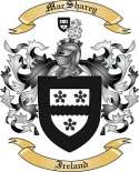 Mac Sharey Family Coat of Arms from Ireland