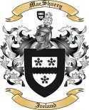 Mac Sharry Family Coat of Arms from Ireland
