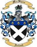 Mac Shera Family Coat of Arms from Ireland