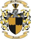 Mac Sherry Family Crest from Ireland2