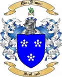 Mac Simon Family Crest from Scotland