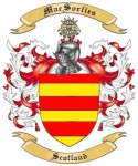 Mac Sorlies Family Crest from Scotland