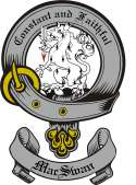 Mac Swan Family Crest from Scotland3