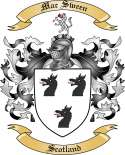 Mac Sween Family Crest from Scotland2