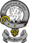 Mac Sween Family Crest from Scotland3