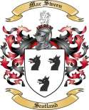 Mac Sween Family Crest from Scotland