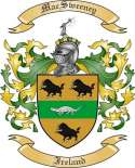 Mac Sweeney Family Coat of Arms from Ireland