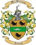 Mac Sweeney Family Crest from Ireland
