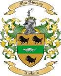 Mac Sweeny Family Coat of Arms from Ireland