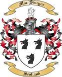 Mac Sweyne Family Crest from Scotland