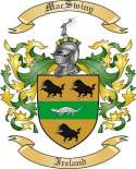 Mac Swiny Family Crest from Ireland