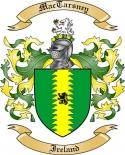 Mac Tarsney Family Coat of Arms from Ireland