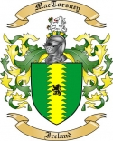Mac Torsney Family Coat of Arms from Ireland